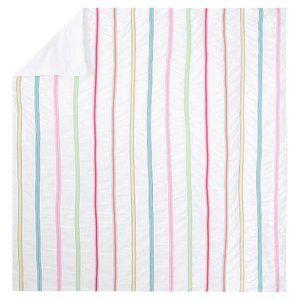 Pottery Barn Teen Rainbow Ribbon Duvet Cover